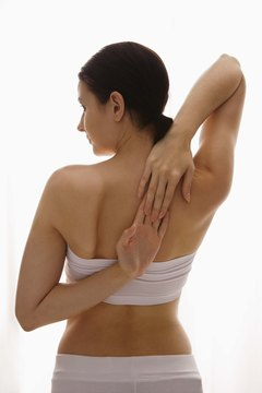 Avoid sore back muscles with stretching.