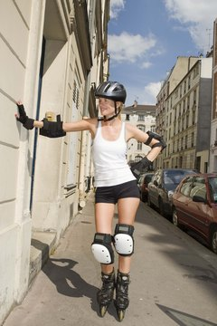The proper gear, such as a helmet and pads, can help reduce your risk of an injury while rollerblading.