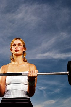 Heavy weights burn more calories and build lean muscle.