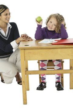 Teachers provide instruction and guidance to children.
