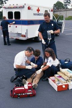 Paramedics work irregular -- and often exhausting -- shifts.