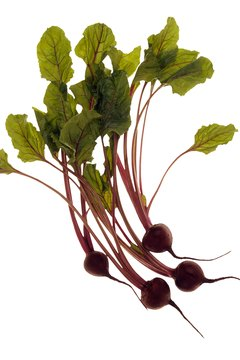 Beet roots and leaves offer health benefits.