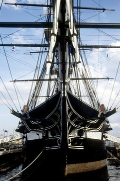The USS Constitution is the world's oldest commissioned warship.