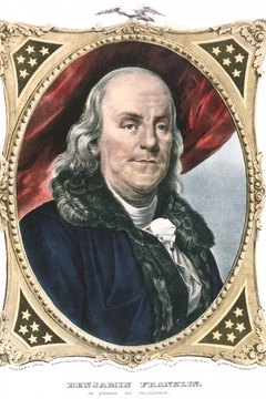 Benjamin Franklin, a Federalist, supported the ratification of the Constitution.