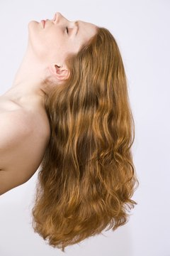 Healthy hair requires getting the right nutrients from food.