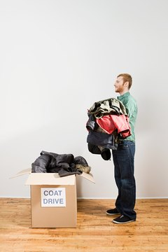 "Used clothes must be in ""good used"" or better condition to qualify for a deduction."