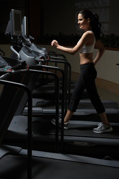 Walking on a treadmill will use the hip flexors.