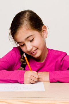 Students take diagnostic tests to measure what they already know.