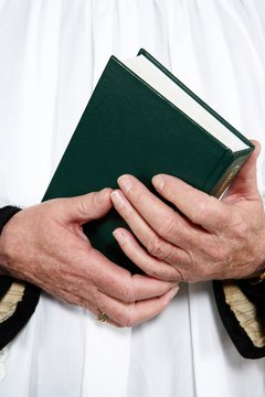 White vestments are becoming more common in Catholic funeral masses.
