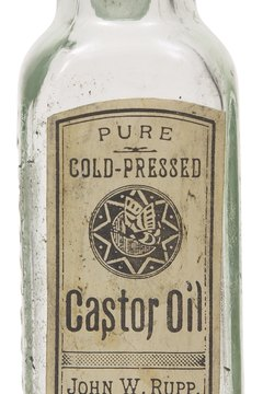 A castor oil pack can be used to treat sprains.