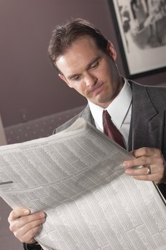 Check the value of your investments in a newspaper or online.