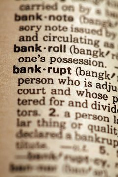 Stock in bankrupt companies is usually deemed worthless.