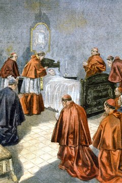 In Catholicism, the Last Rites prepare a sick person for death.