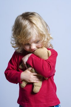 Provide toys for your child that increase the other senses like sound and touch.