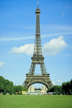 Two Eiffel Towers serve as tourist attractions in the world, one in Paris and one in Las Vegas.