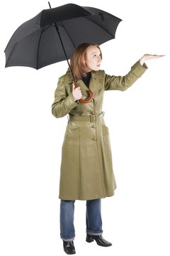Avoid wearing untreated leather in the rain.