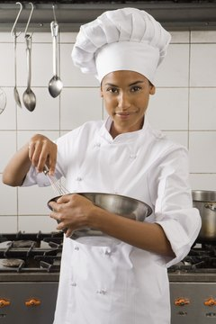 A chef manager gets experience as a line cook or sous chef.