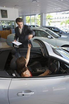 Don't leave the dealership without finalizing your loan.