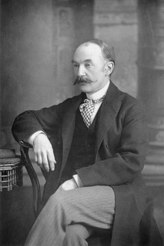 Thomas Hardy grew more critical of religion and faith over his lifetime.