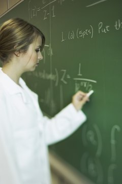 Math teachers typically have to take college algebra, college geometry and calculus.