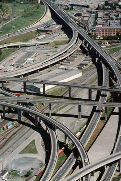Civil engineers use mathematics, physics and engineering principles to design transportation infrastructure.