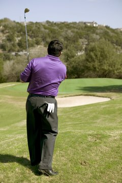 A fine pair of suit slacks helps you look stylish on the golf course.