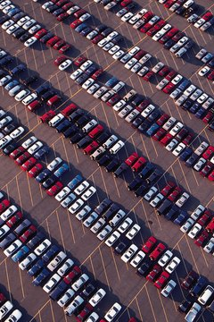 Car storage lot