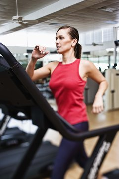 Treadmill intervals can keep you on track with your fitness goals.