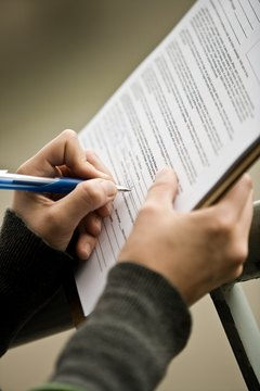 An original contract bearing your signature is an important part of a lawsuit.