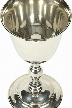 A chalice is often made of silver, which Wiccans associate with the moon and the goddess.
