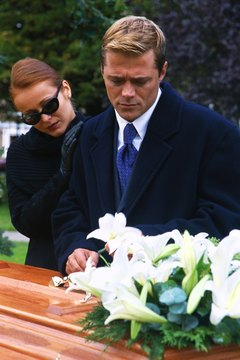 Morticians help families with the difficult duty of planning funerals.
