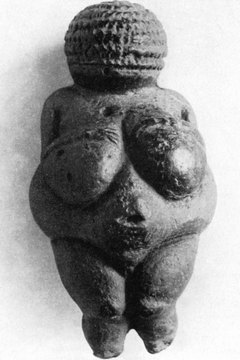 'Venus of Willendorf' is one of the oldest existing artifacts from the Stone Age.