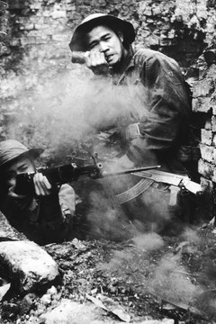North Vietnam altered its prior guerrilla strategy in the Tet offensive, targeting large cities and towns.