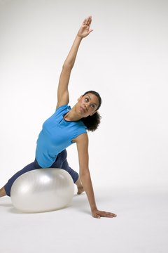 Exercise balls are a terrific abdominal tool.