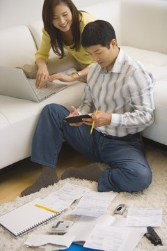 Organizing your finances promotes a happy home.
