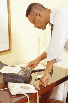 Fax machines were first developed in the mid-19th century.