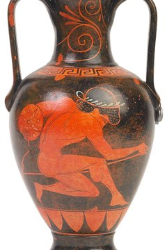 Ancient Greek Olympians did not always compete in the nude.