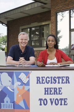Some closed primaries allow day-of registering for the party.