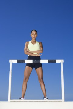 Plyometric exercises can improve speed and power for running hurdles.