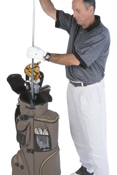There are many ways to organize your golf clubs.