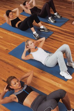 Getting in a good cardio workout and doing ab-strengthening exercises will have you looking and feeling great.