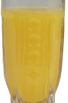 Orange juice ranks near the top on the U.S. Department of Agriculture's list of foods high in vitamin C.