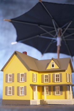 Make sure this umbrella fully protects your house.
