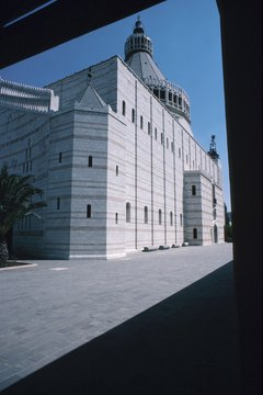 The Basilica of the Annunciation in Nazareth is one of Christianity's holiest buildings.