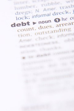 Filing bankruptcy is one option for dealing with unpaid debt.