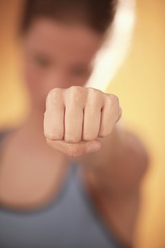 You can learn the basics of boxing with no equipment at all.