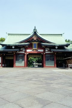 Shinto temples are sacred in Japan.