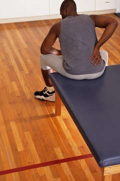 Inversion table exercises may help relieve back pain.