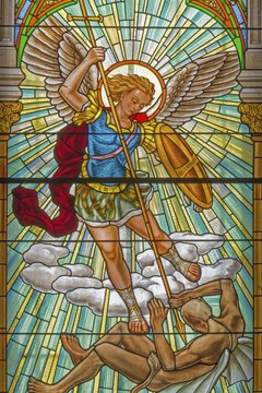 God's servant Michael is classified as an archangel.