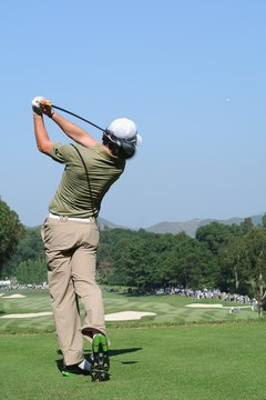 Rory McIlroy, the 2011 U.S. Open champion, holds nothing back when he makes a full swing.